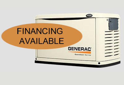 Finance your Generac Generator - New Jersey